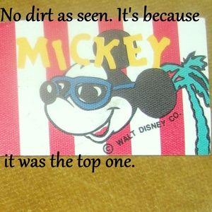 Huge Vintage Bag Of Mickey Mouse Labels-Over 100-D